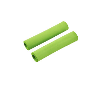 Red Cycling Products Silicon Grip Bike Grips green